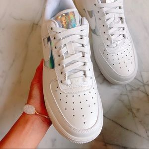 Nike Shoes - Air force 1 Metallic